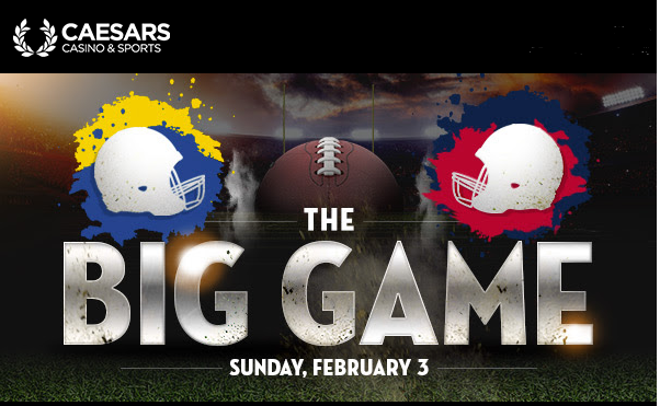 Caesars Super Bowl Promotion